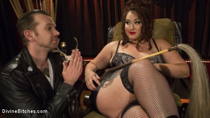 Photo number 1 from Beautiful, Buxom Mimosa Dominates Submissive Pretty Boy shot for Divine Bitches on Kink.com. Featuring Mimosa and Will Havoc in hardcore BDSM & Fetish porn.