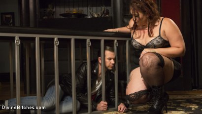 Photo number 2 from Beautiful, Buxom Mimosa Dominates Submissive Pretty Boy shot for Divine Bitches on Kink.com. Featuring Mimosa and Will Havoc in hardcore BDSM & Fetish porn.