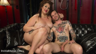 Photo number 11 from Beautiful, Buxom Mimosa Dominates Submissive Pretty Boy shot for Divine Bitches on Kink.com. Featuring Mimosa and Will Havoc in hardcore BDSM & Fetish porn.