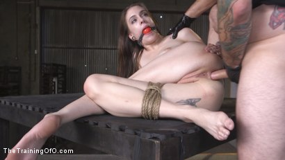 Photo number 28 from Extreme Anal Training: Anna De Ville shot for The Training Of O on Kink.com. Featuring Tommy Pistol and Anna De Ville in hardcore BDSM & Fetish porn.