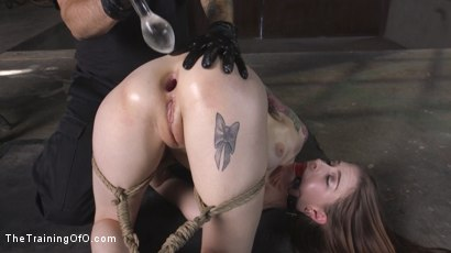 Photo number 5 from Extreme Anal Training: Anna De Ville shot for The Training Of O on Kink.com. Featuring Tommy Pistol and Anna De Ville in hardcore BDSM & Fetish porn.