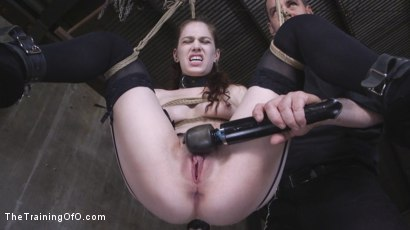 Photo number 27 from Two Submissive Sluts shot for The Training Of O on Kink.com. Featuring Tommy Pistol, Bobbi Dylan and Kimber Woods in hardcore BDSM & Fetish porn.