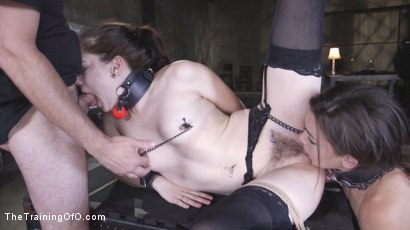Photo number 32 from Two Submissive Sluts shot for The Training Of O on Kink.com. Featuring Tommy Pistol, Bobbi Dylan and Kimber Woods in hardcore BDSM & Fetish porn.