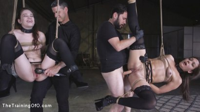 Photo number 25 from Two Submissive Sluts shot for The Training Of O on Kink.com. Featuring Tommy Pistol, Bobbi Dylan and Kimber Woods in hardcore BDSM & Fetish porn.