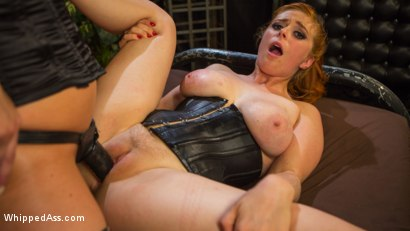 Photo number 18 from Lesbian Femdom Role Switch Leaves Both Women Begging For More shot for Whipped Ass on Kink.com. Featuring Penny Pax and Carissa Montgomery in hardcore BDSM & Fetish porn.