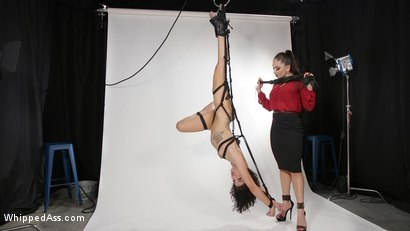 Photo number 11 from Model Student:Disobedient Bianca Stone Whipped Into Shape by Lea Lexis shot for Whipped Ass on Kink.com. Featuring Bianca Stone and Lea Lexis in hardcore BDSM & Fetish porn.