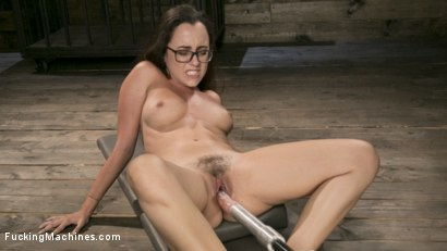 Photo number 5 from Young Bratty Slut Gets Fucked Into Oblivion  shot for Fucking Machines on Kink.com. Featuring Roxanne Rae in hardcore BDSM & Fetish porn.