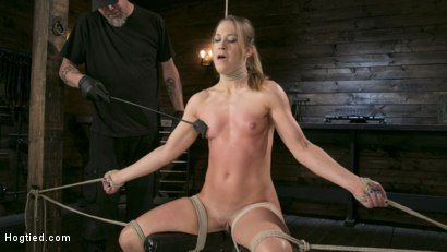 Photo number 19 from Fit to be Tied shot for Hogtied on Kink.com. Featuring The Pope and Cheyenne Jewel in hardcore BDSM & Fetish porn.