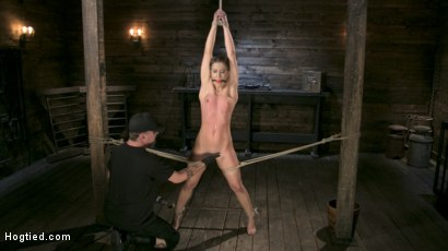 Photo number 5 from Fit to be Tied shot for Hogtied on Kink.com. Featuring The Pope and Cheyenne Jewel in hardcore BDSM & Fetish porn.