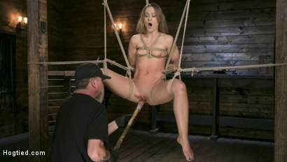 Photo number 10 from Fit to be Tied shot for Hogtied on Kink.com. Featuring The Pope and Cheyenne Jewel in hardcore BDSM & Fetish porn.