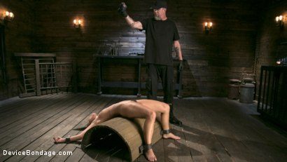 Photo number 2 from Petite Submissive Slut Gina Valentina Gets Punished in Brutal Bondage! shot for Device Bondage on Kink.com. Featuring Gina Valentina and The Pope in hardcore BDSM & Fetish porn.