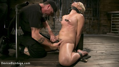 Photo number 4 from Captured Cougar shot for Device Bondage on Kink.com. Featuring Helena Locke and The Pope in hardcore BDSM & Fetish porn.