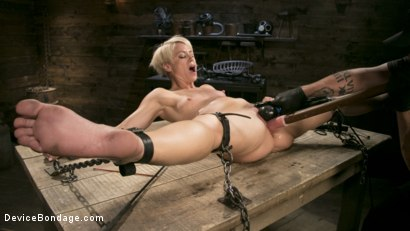 Photo number 7 from Captured Cougar shot for Device Bondage on Kink.com. Featuring Helena Locke and The Pope in hardcore BDSM & Fetish porn.