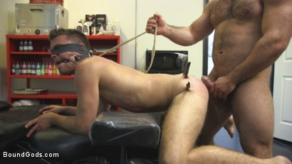 Photo number 12 from Abuse in the Workplace shot for Bound Gods on Kink.com. Featuring Jaxton Wheeler and Christian Taylor in hardcore BDSM & Fetish porn.