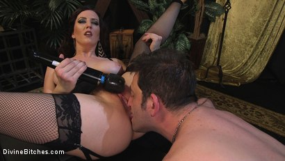 Photo number 16 from Lusty Cherry Torn Teases, Torments and Fucks K Dynamite shot for Divine Bitches on Kink.com. Featuring Cherry Torn and K. Dynamite in hardcore BDSM & Fetish porn.