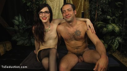 Photo number 23 from Stefani Special doms and fucks DJ, her willing handcuffed slave shot for TS Seduction on Kink.com. Featuring Stefani Special and DJ in hardcore BDSM & Fetish porn.