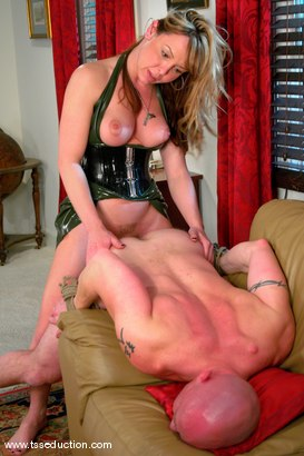 Photo number 12 from Danielle Foxxx and Jim shot for TS Seduction on Kink.com. Featuring Danielle Foxx and Jim in hardcore BDSM & Fetish porn.