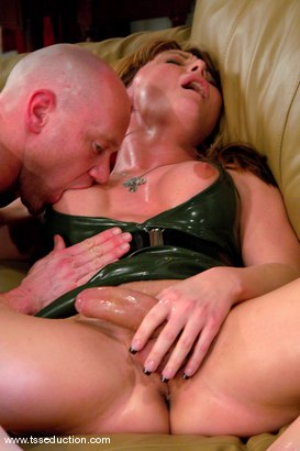Photo number 14 from Danielle Foxxx and Jim shot for TS Seduction on Kink.com. Featuring Danielle Foxx and Jim in hardcore BDSM & Fetish porn.