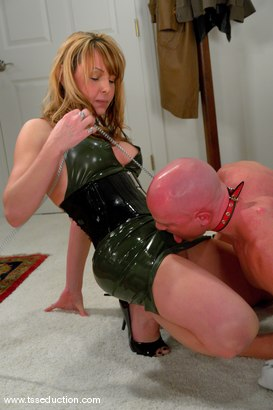 Photo number 5 from Danielle Foxxx and Jim shot for TS Seduction on Kink.com. Featuring Danielle Foxx and Jim in hardcore BDSM & Fetish porn.