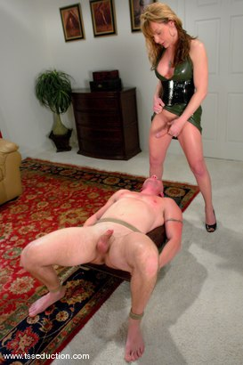 Photo number 6 from Danielle Foxxx and Jim shot for TS Seduction on Kink.com. Featuring Danielle Foxx and Jim in hardcore BDSM & Fetish porn.