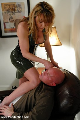 Photo number 2 from Danielle Foxxx and Jim shot for TS Seduction on Kink.com. Featuring Danielle Foxx and Jim in hardcore BDSM & Fetish porn.