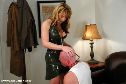 Photo number 3 from Danielle Foxxx and Jim shot for TS Seduction on Kink.com. Featuring Danielle Foxx and Jim in hardcore BDSM & Fetish porn.