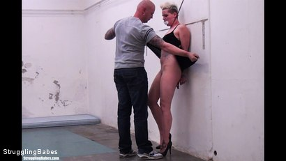 Photo number 2 from Angela Bound Mouthstuffed, And Tapegagged shot for Struggling Babes on Kink.com. Featuring Ronnie and Angela Bound in hardcore BDSM & Fetish porn.
