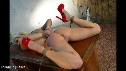 Photo number 12 from Blanche - How To Dethrone A Princess shot for Struggling Babes on Kink.com. Featuring Ar and Blanche Bradburry in hardcore BDSM & Fetish porn.