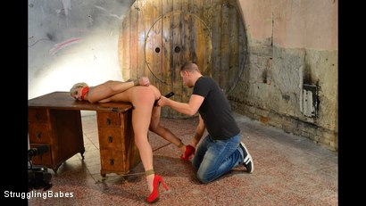 Photo number 4 from Blanche - How To Dethrone A Princess shot for Struggling Babes on Kink.com. Featuring Ar and Blanche Bradburry in hardcore BDSM & Fetish porn.