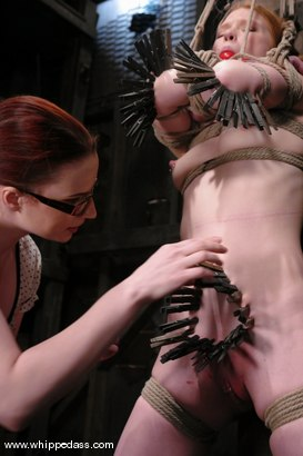 Photo number 9 from Claire Adams and Madison Young shot for Whipped Ass on Kink.com. Featuring Claire Adams and Madison Young in hardcore BDSM & Fetish porn.
