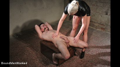 Photo number 15 from Victoria's Controlled Orgasm shot for Bound Men Wanked on Kink.com. Featuring Richy and Victoria Redd in hardcore BDSM & Fetish porn.