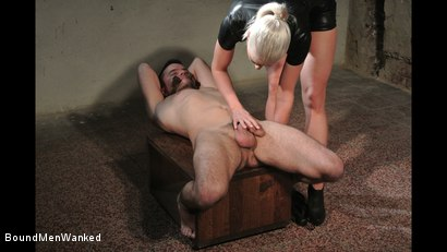 Photo number 6 from Victoria's Controlled Orgasm shot for Bound Men Wanked on Kink.com. Featuring Richy and Victoria Redd in hardcore BDSM & Fetish porn.