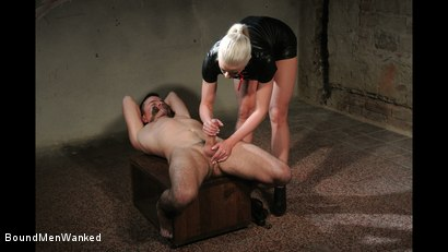 Photo number 7 from Victoria's Controlled Orgasm shot for Bound Men Wanked on Kink.com. Featuring Richy and Victoria Redd in hardcore BDSM & Fetish porn.