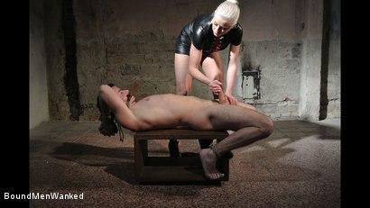 Photo number 9 from Victoria's Controlled Orgasm shot for Bound Men Wanked on Kink.com. Featuring Richy and Victoria Redd in hardcore BDSM & Fetish porn.