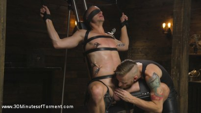Photo number 8 from Hung stud Nate Grimes - The Pit - The Chair - The Gimp Room shot for 30 Minutes of Torment on Kink.com. Featuring Nate Grimes in hardcore BDSM & Fetish porn.