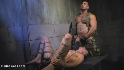 Photo number 13 from The Rat Catcher shot for Bound Gods on Kink.com. Featuring Jack Hunter and Jaxton Wheeler in hardcore BDSM & Fetish porn.
