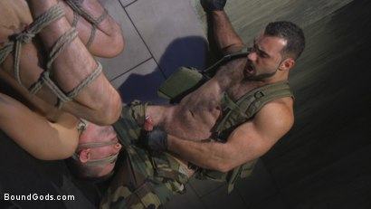 Photo number 14 from The Rat Catcher shot for Bound Gods on Kink.com. Featuring Jack Hunter and Jaxton Wheeler in hardcore BDSM & Fetish porn.