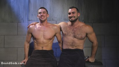 Photo number 15 from The Rat Catcher shot for Bound Gods on Kink.com. Featuring Jack Hunter and Jaxton Wheeler in hardcore BDSM & Fetish porn.