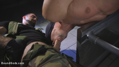 Photo number 5 from The Rat Catcher shot for Bound Gods on Kink.com. Featuring Jack Hunter and Jaxton Wheeler in hardcore BDSM & Fetish porn.