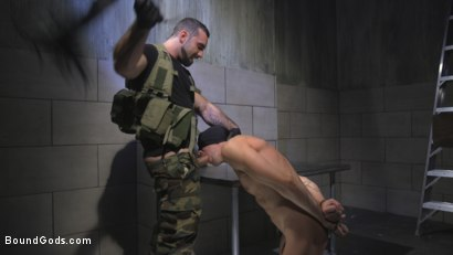Photo number 6 from The Rat Catcher shot for Bound Gods on Kink.com. Featuring Jack Hunter and Jaxton Wheeler in hardcore BDSM & Fetish porn.