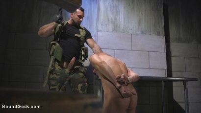 Photo number 7 from The Rat Catcher shot for Bound Gods on Kink.com. Featuring Jack Hunter and Jaxton Wheeler in hardcore BDSM & Fetish porn.