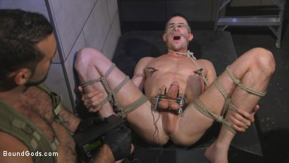 Photo number 8 from The Rat Catcher shot for Bound Gods on Kink.com. Featuring Jack Hunter and Jaxton Wheeler in hardcore BDSM & Fetish porn.