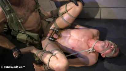Photo number 10 from The Rat Catcher shot for Bound Gods on Kink.com. Featuring Jack Hunter and Jaxton Wheeler in hardcore BDSM & Fetish porn.