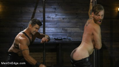 Photo number 2 from Trenton Ducati Submits shot for Men On Edge on Kink.com. Featuring Trenton Ducati in hardcore BDSM & Fetish porn.