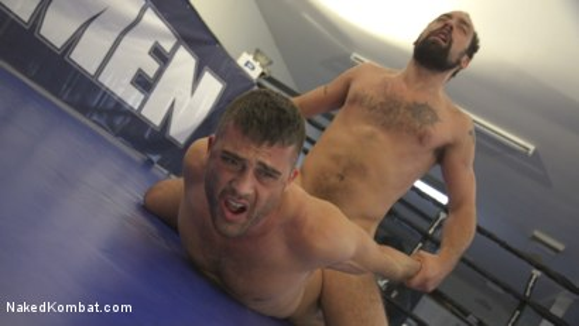 Photo number 14 from DJ vs Lance Hart shot for Naked Kombat on Kink.com. Featuring Lance Hart and DJ in hardcore BDSM & Fetish porn.