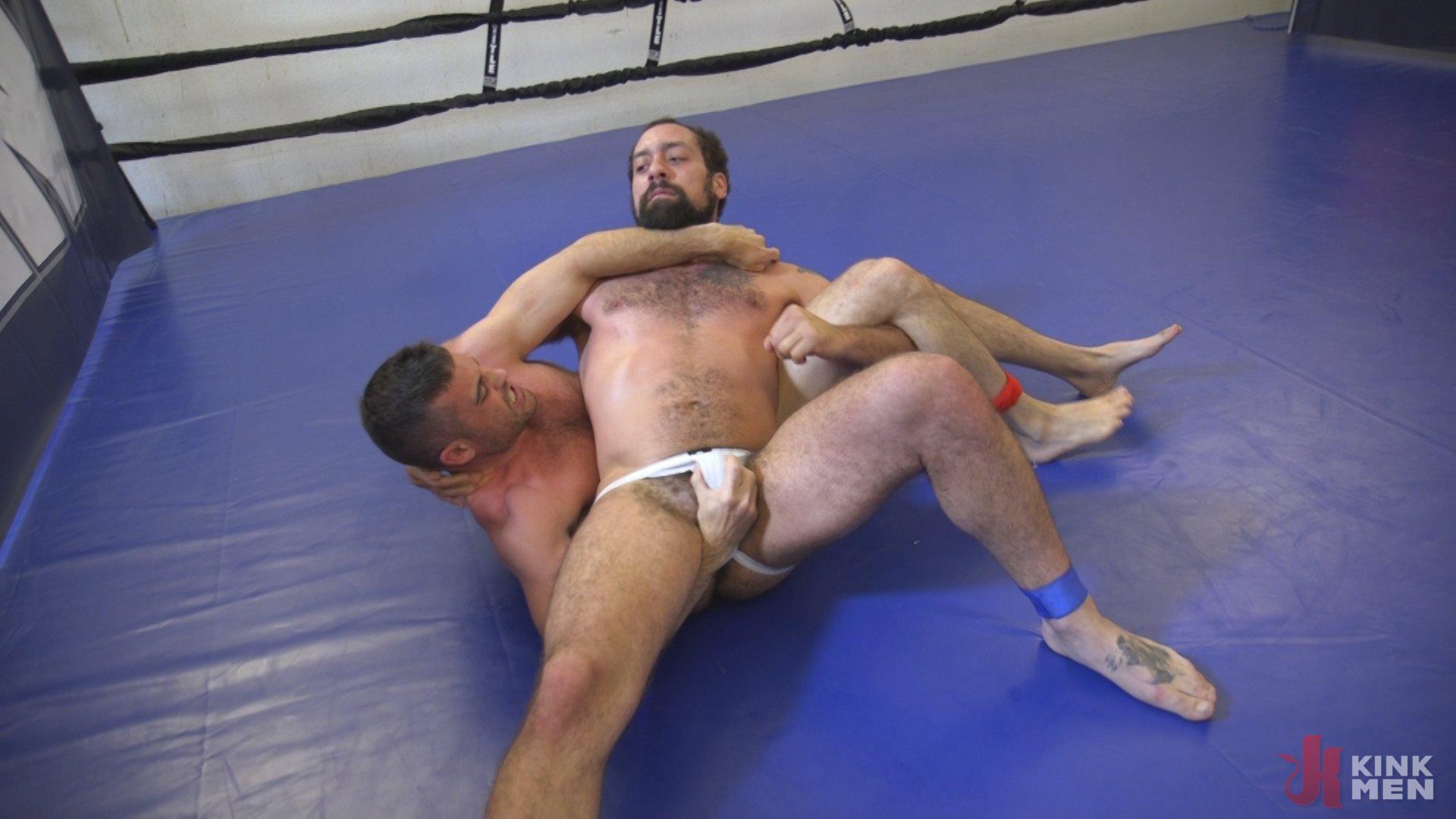 Photo number 1 from DJ vs Lance Hart shot for Naked Kombat on Kink.com. Featuring Lance Hart and DJ in hardcore BDSM & Fetish porn.
