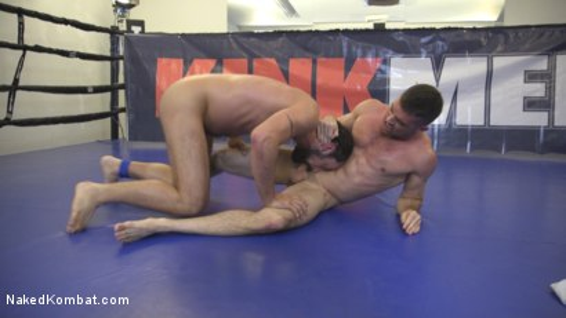 Photo number 4 from DJ vs Lance Hart shot for Naked Kombat on Kink.com. Featuring Lance Hart and DJ in hardcore BDSM & Fetish porn.