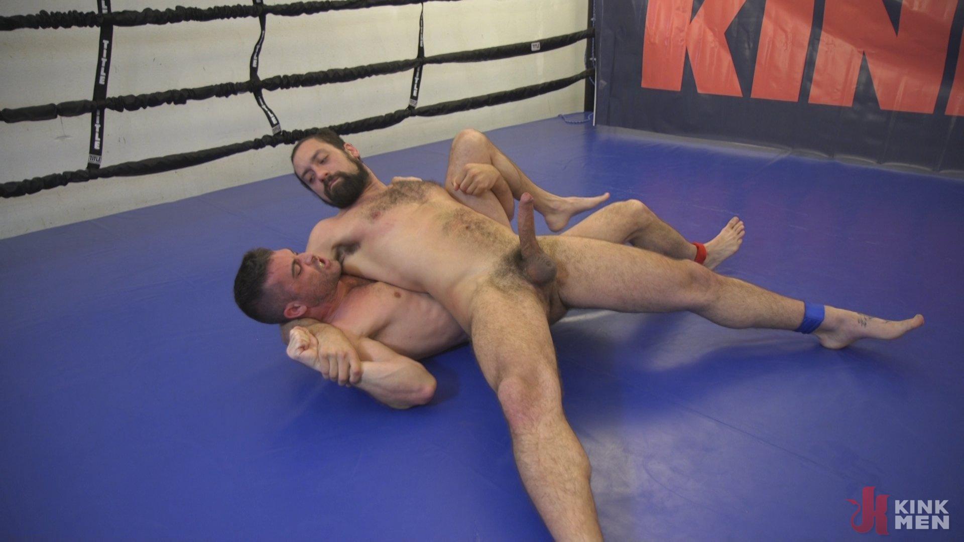 Photo number 7 from DJ vs Lance Hart shot for Naked Kombat on Kink.com. Featuring Lance Hart and DJ in hardcore BDSM & Fetish porn.