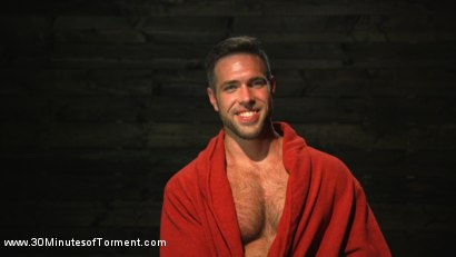 Photo number 15 from Muscled God Endures Extreme Torment shot for 30 Minutes of Torment on Kink.com. Featuring Alex Mecum in hardcore BDSM & Fetish porn.
