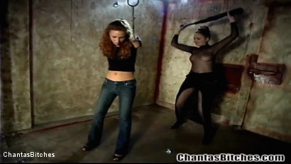 Photo number 4 from Misbehaving Slave shot for Chantas Bitches on Kink.com. Featuring Laila Mason and Chanta-Rose in hardcore BDSM & Fetish porn.